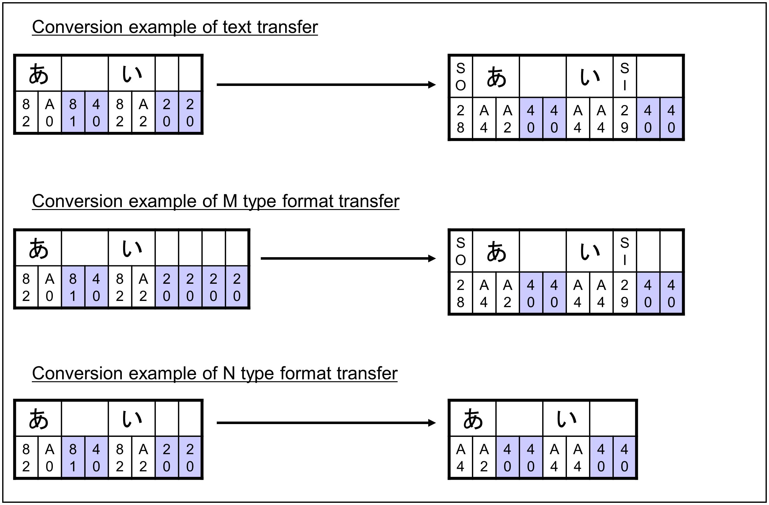 Official | Conversion from Type-ASCII Code Set to Type